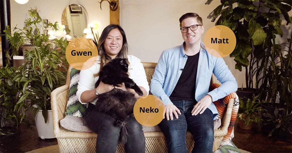 Airbnb Video Testimonial describing